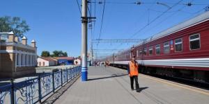 Bahnhof von Ischim