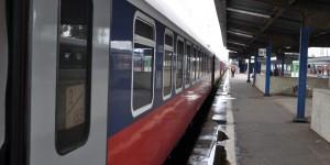Zug in Warschau