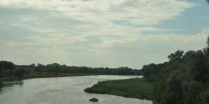 Der Fluss Bug bei Belarus