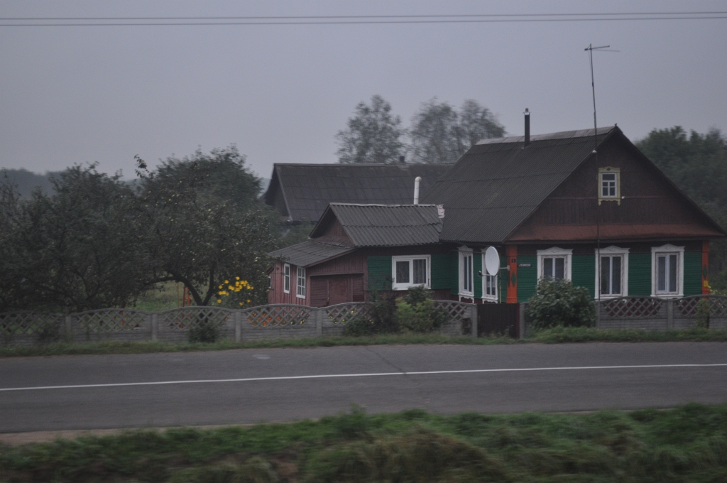 Fahrt durch Weißrussland