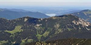 Panorama bis zum Tegernsee