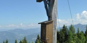 Nördliches Gipfelkreuz auf dem Voldöppberg