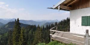 Hütte auf dem Hirschberg