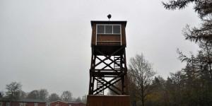 Wachturm im Frøslev-Lager