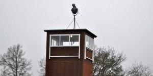 Turm im Lager