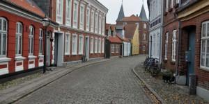 Straße in Ribe