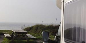 Parkplatz an der Nordsee