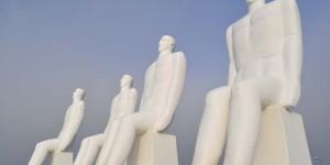 Skulptur bei Esbjerg