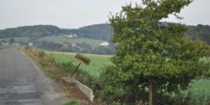 Landschaft am belgischen Jakobsweg
