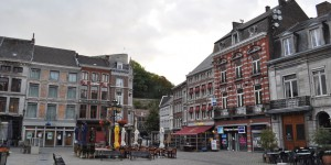 Marktplatz in Huy