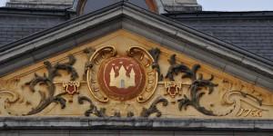Giebel am Rathaus