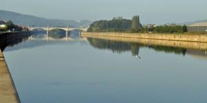Die Maas bei Andenne