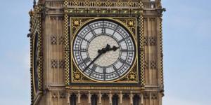 Uhr am Big Ben