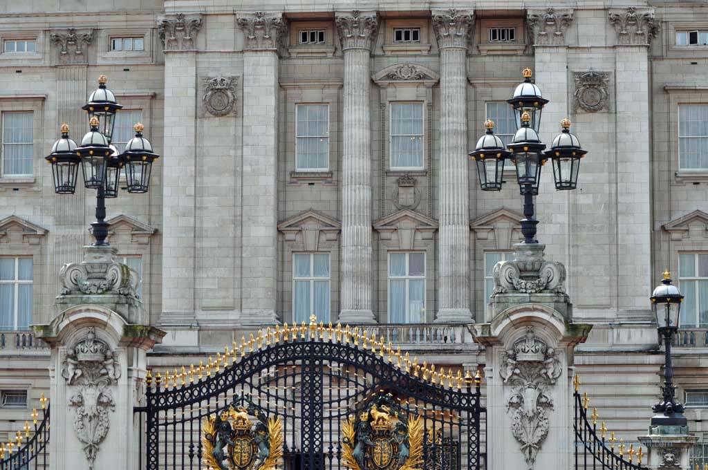 Buckingham Palast in London