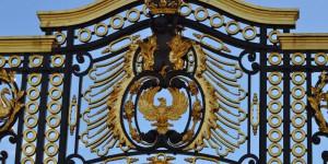 Tor am Buckingham Palast