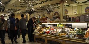 Lebensmittelabteilung im Harrods