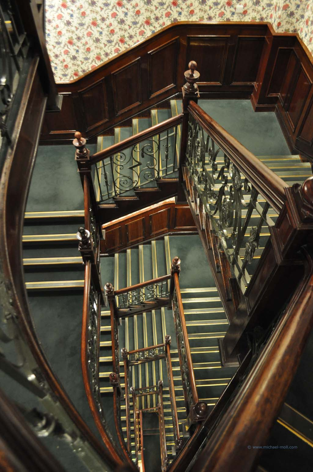 Treppenhaus von Harrods