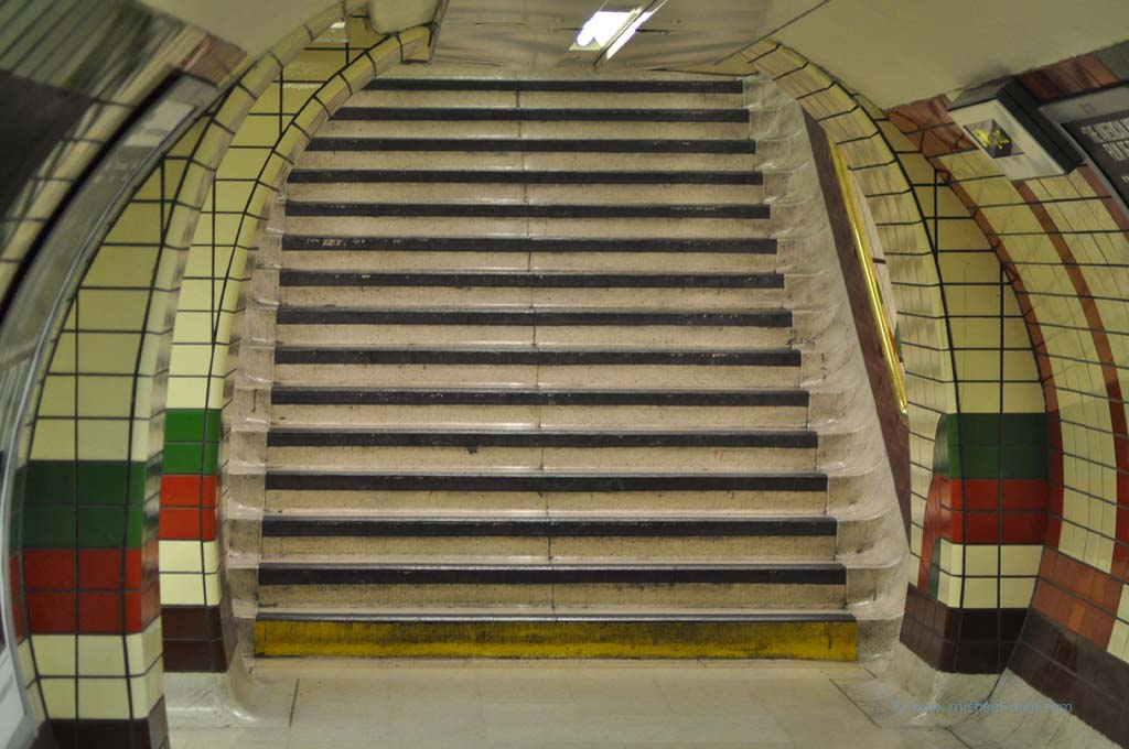 Treppe in the Tube