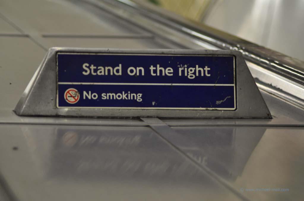 Rechts stehen und links gehen