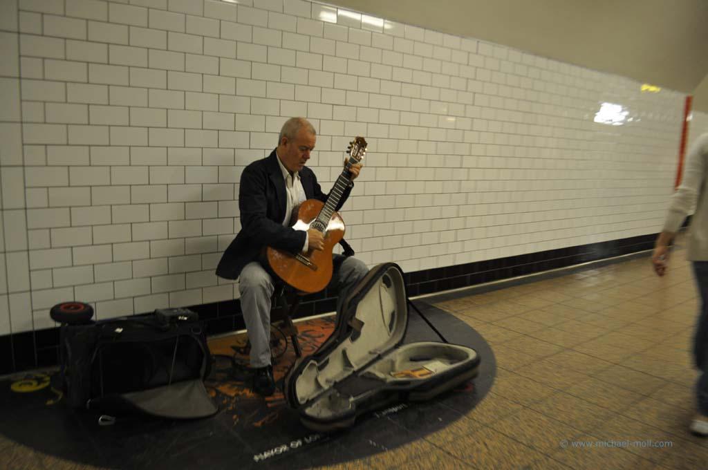 Musiker im Untergrund