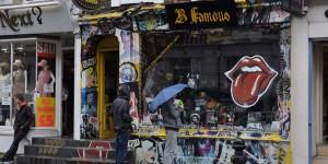 Geschäft in Notting Hill