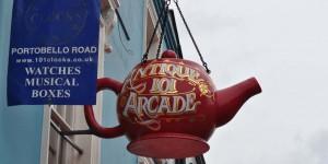 Teekanne in England