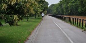 Unterwegs im Hyde-Park