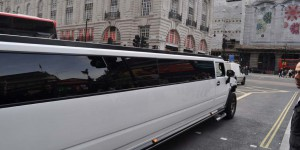 Stretchlimo am Picadilly Circus