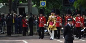 Die Parade beginnt