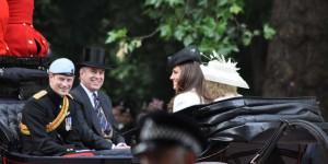 Prinz William und Prinz Andrew