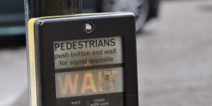 Ampel für Fußgänger