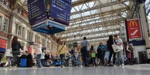 Einer der Londoner Bahnhöfe