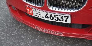 Autokennzeichen der Vereinigten Arabischen Emirate