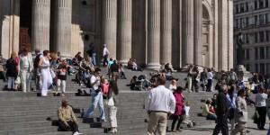 Vor der St. Pauls-Kathedrale