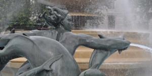 Brunnen am Trafalgar Square