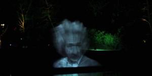 Einstein Reflexion