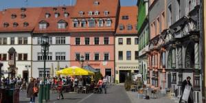Rathausplatz in Weimar
