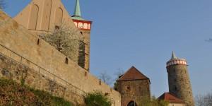 Michaliskirche und Alte Wasserkunst in Bautzen