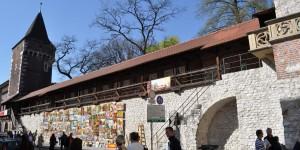 Stadtmauer von Krakau