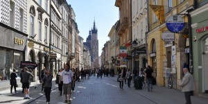 Krakauer Fußgängerzone