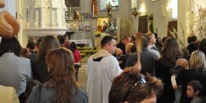 Segnung in polnischer Kirche