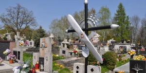 Grab eines polnischen Piloten