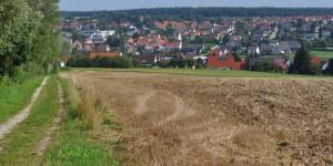 Blick auf Monheim