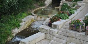 Wassertretbecken in Pappenheim
