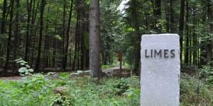 Gedenkstein für den Limes