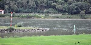 Mündung der Lahn in den Rhein