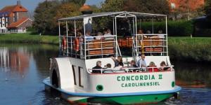Concordia II auf der Harle