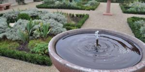 Kleiner Gartenbrunnen