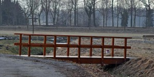 Brücke von Tschechien nach Polen