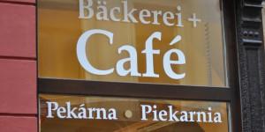 Dreisprachige Bäckerei